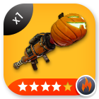 Fortnite Jack-o-Launcher Fire